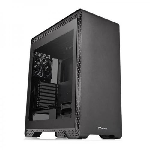 Thermaltake S500 TG (Black) - CA-1O3-00M1WN-00 price in india features reviews specs
