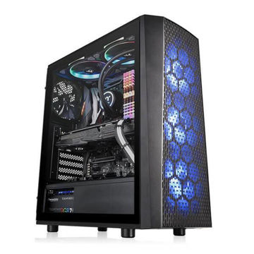 Thermaltake Versa J24 TG RGB (Black) - CA-1L7-00M1WN-01 price in india features reviews specs