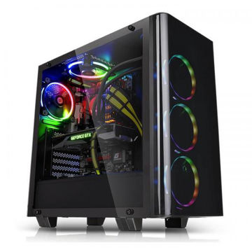 Thermaltake VIEW 21 Tempered Glass - CA-1I3-00M1WN-00 price in india features reviews specs