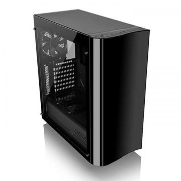 Thermaltake View 22 Tempered Glass (Black) - CA-1J3-00M1WN-00 price in india features reviews specs