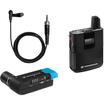 buy Sennheiser AVX-ME2 SET Digital Camera-Mount Wireless Omni Lavalier Microphone System (1.9 GHz) in India imastudent.com