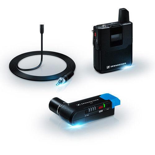 buy Sennheiser AVX-MKE2 SET Digital Camera-Mount Wireless Omni Lavalier Microphone System (1.9 GHz) in India imastudent.com