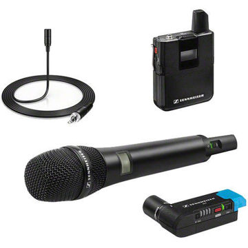 buy Sennheiser AVX-Combo SET Digital Camera-Mount Wireless Combo Microphone System (1.9 GHz) in India imastudent.com
