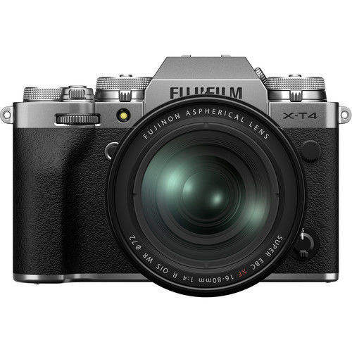 buy FUJIFILM X-T4 Mirrorless Digital Camera with 16-80mm Lens imastudent.com