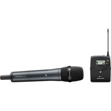 buy Sennheiser EW 135P G4 Camera-Mount Wireless Cardioid Handheld Microphone System (A1: 470 to 516 MHz) in India imastudent.com