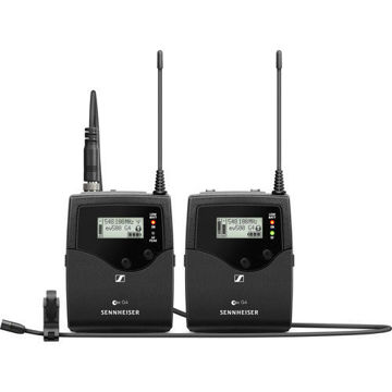 buy Sennheiser EW 512P G4 Camera-Mount Wireless Omni Lavalier Microphone System (AW+: 470 to 558 MHz) in India imastudent.com