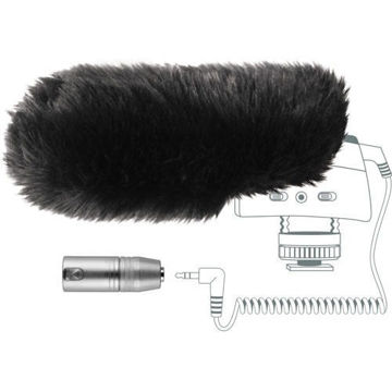 buy Sennheiser MZW400 Wind-muff and XLR Adapter Kit for the MKE400 in India imastudent.com