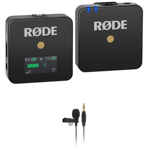 buy Rode Wireless GO Compact Wireless Omni Lavalier Microphone System Kit (2.4 GHz) in India imastudent.com