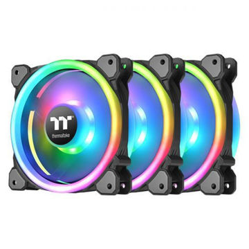 Thermaltake Riing Trio 12 RGB Radiator Fan TT Premium Edition (3-Fan Pack) price in india features reviews specs