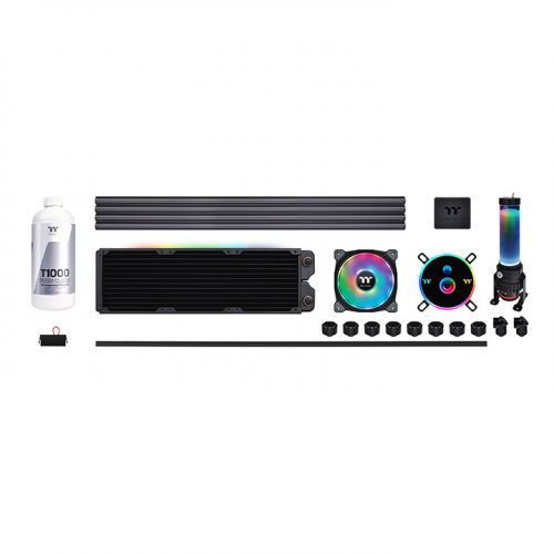 Thermaltake Pacific CL360 Max D5 Hard Tube Water Cooling Kit price in india features reviews specs