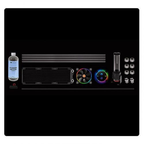 Thermaltake Pacific M360 D5 Hard Tube Water Cooling Kit price in india features reviews specs