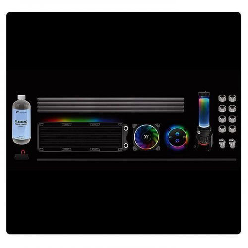 Thermaltake Pacific M360 Plus D5 Hard Tube Water Cooling Kit price in india features reviews specs