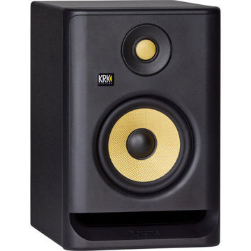 "KRK ROKIT 5 G4 5"" 2-Way Active Studio Monitor ( Black) price in india features reviews specs"