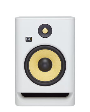 "KRK ROKIT 8 G4 8"" 2-Way Active Studio Monitor (White Noise) price in india features reviews specs"