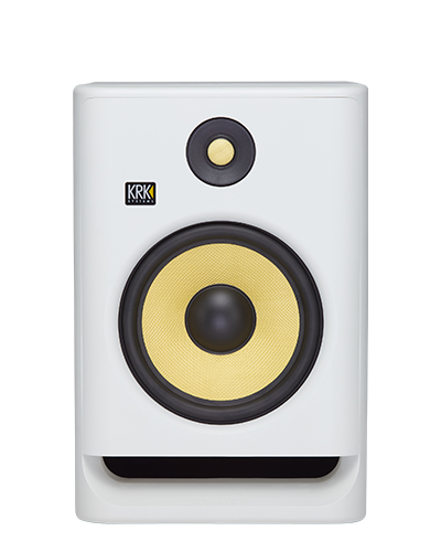 """KRK ROKIT 8 G4 8"""" 2-Way Active Studio Monitor (White Noise) price in india features reviews specs"""
