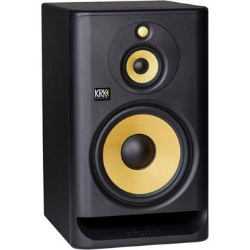 "KRK ROKIT 10 G4 10"" 3-Way Active Studio Monitor (Single, Black) price in india features reviews specs"