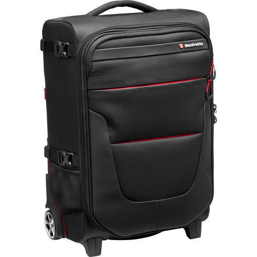 Manfrotto Pro Light Reloader Air-55 Carry-On Camera Roller Bag (Black) price in india features reviews specs