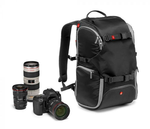 buy Manfrotto Advanced Camera and Laptop Backpack Travel (Black) in India imastudent.com