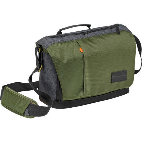 buy Manfrotto Street Camera Messenger bag for CSC/DSLR (Green and Gray) in India imastudent.com
