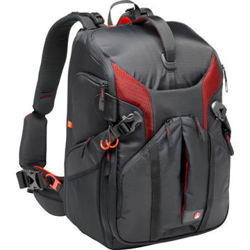 buy Manfrotto Pro Light 3N1-36 Camera Backpack (Black) in India imastudent.com