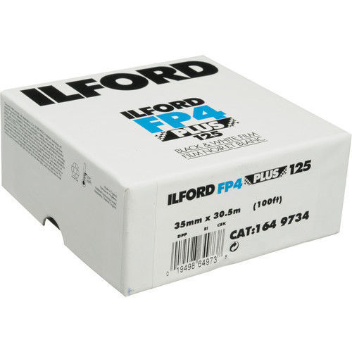 buy Ilford FP4 Plus Black and White Negative Film (35mm Roll Film, 100' Roll) in India imastudent.com