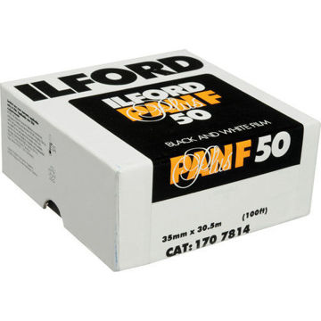 buy Ilford Pan F Plus Black and White Negative Film (35mm Roll Film, 100' Roll) in India imastudent.com
