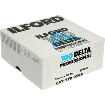 buy Ilford Delta 100 Professional Black and White Negative Film (35mm Roll Film, 100' Roll) in India imastudent.com