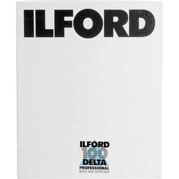 "buy Ilford Delta 100 Professional Black and White Negative Film (8 x 10"", 25 Sheets)r in India imastudent.com"