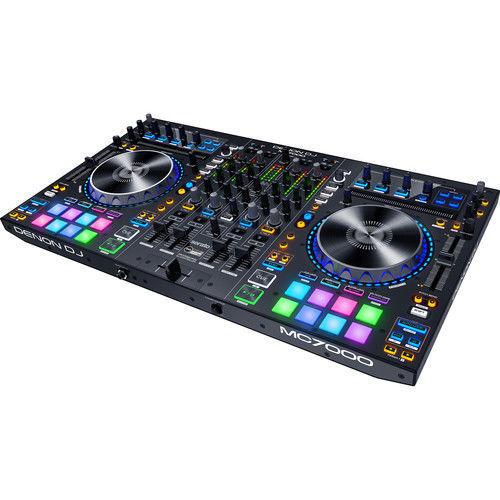 buy Denon DJ MC7000 4-Channel Serato DJ Controller / Digital Mixer with Dual USB in India imastudent.com