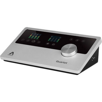buy Apogee Electronics Quartet USB 2.0 Audio Interface for Mac, iOS & Windows 10 with Lightning Connector Cable in India imastudent.com