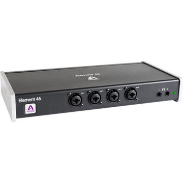buy Apogee Electronics Element 46 12x14 Thunderbolt Audio I/O Box for Mac in India imastudent.com