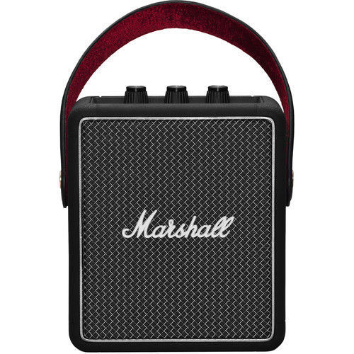buy Marshall Stockwell II Portable Bluetooth Speaker (Black) in India imastudent.com