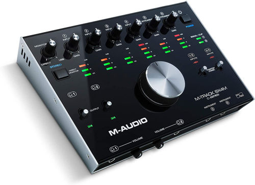 buy M-Audio M-Track 8X4M - 8-In/4-Out USB Audio Interface in India imastudent.com