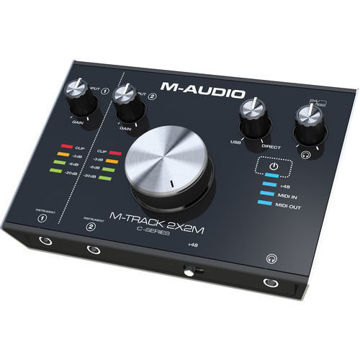 buy M-Audio M-Track 2X2M USB Audio Interface with MIDI I/O in India imastudent.com