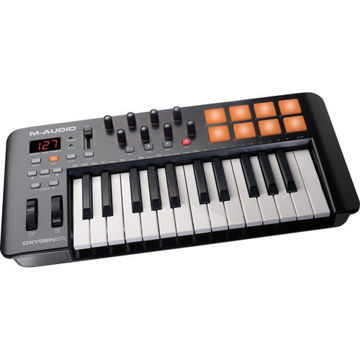 buy M-Audio Oxygen 25 IV - USB MIDI Keyboard Controller in India imastudent.com