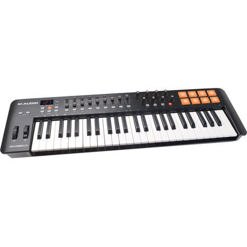 buy M-Audio Oxygen 49 IV - USB MIDI Keyboard Controller in India imastudent.com