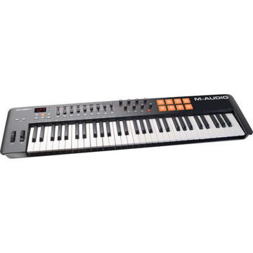 buy M-Audio Oxygen 61 IV - USB MIDI Keyboard Controller in India imastudent.com
