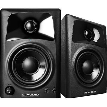 buy M-Audio AV32 Compact Desktop Speakers for Professional Media Creation (Pair) in India imastudent.com
