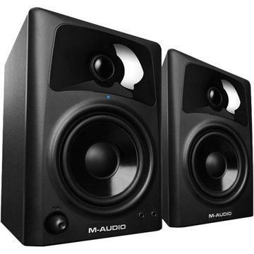 buy M-Audio AV42 Compact Desktop Speakers for Professional Media Creation (Pair) in India imastudent.com