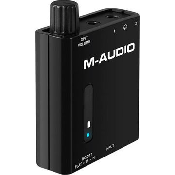 buy M-Audio Bass Traveler - Portable 2-Channel Headphone Amplifier in India imastudent.com