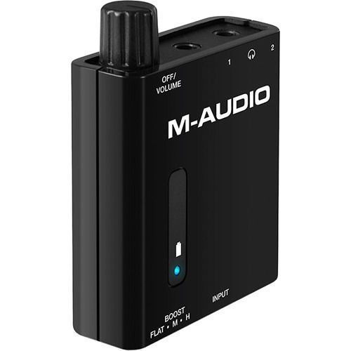 buy M-Audio Bass Traveler - Portable 2-Channel Headphone Amplifier in India imastudent.com