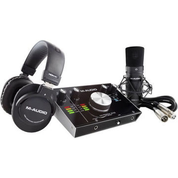 buy M-Audio M-Track 2x2 Vocal Studio Pro Vocal Production Package in India imastudent.com