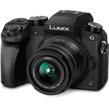 Panasonic Lumix DMC-G7 Mirrorless Micro Four Thirds Digital Camera with 14-42mm Lens in India imastudent.com