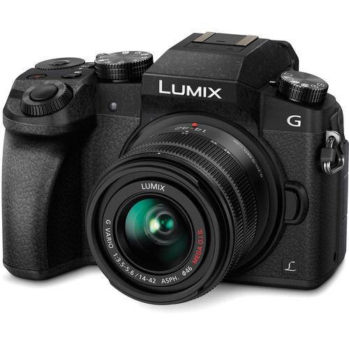 Panasonic Lumix DMC-G7 Mirrorless Micro Four Thirds Digital Camera with 14-42mm Lens in India imastudent.com