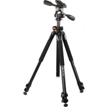 Vanguard Alta Pro 263AP Aluminum-Alloy Tripod Kit with PH-32 3-Way, Pan-and-Tilt Head price in india features reviews specs