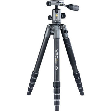 Vanguard VEO 2X 265CBP Carbon Fiber 4-in-1 Tripod with BP-120 Ball/Pan Head price in india features reviews specs
