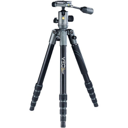 Vanguard VEO 2X 265ABP Aluminum 4-in-1 Tripod with BP-120 Ball/Pan Head price in india features reviews specs
