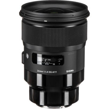 buy Sigma 24mm f/1.4 DG HSM Art Lens for L Mount in India imastudent.com