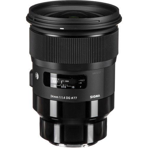 buy Sigma 24mm f/1.4 DG HSM Art Lens for L Mount in India imastudent.com