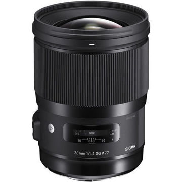 buy Sigma 28mm f/1.4 DG HSM Art Lens for L Mount in India imastudent.com